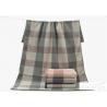 China Plain Pattern Compact Soft Terry 100 cotton bath towels For Children / Adults , 70*140cm wholesale
