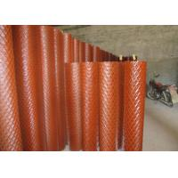 China EMW Medium Expanded Metal Mesh Sheet For Highway Fencing Rhombus Hole wholesale