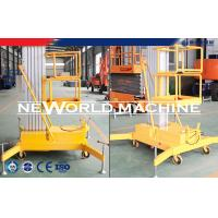China 100kg 1.5kw Aerial Work Platform Aerial Lift Safety Superior wholesale
