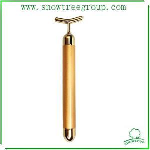 China 24k golden hight end quality popular japan beauty bar slim face bar wholesale