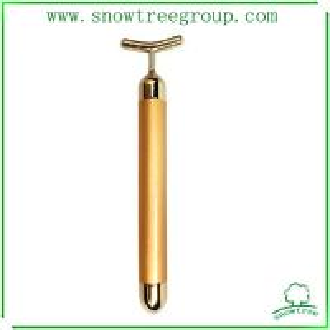 China new year best gift 24 k gold beauty bar for slim face bar v shape face beauty bar wholesale