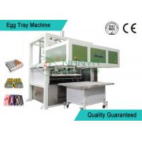 China Recycled Paper Pulp Molding Machine Semi - Automatic Egg Tray Line With Dryer wholesale