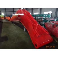 China Doosan DX 480 Excavator Long Reach Arm 14.34 Meter Heavy Duty For Dredging Port wholesale