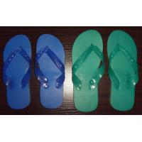 China STOCK -----COUCOU BRAND PLASTIC LIGHT PVC MATERIAL 915A BLUE/GREEN SLIPPERS  6 wholesale