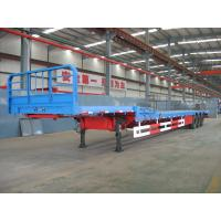 China Flat Bed Semi-Trailer-2 loading plate form with goose neck-9403TJZLB wholesale