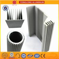 China Silver White Industrial Powder Coated Aluminium Extrusions Heat Insulation on sale