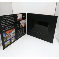 China 7 Inch Europe Style Lcd Video Card / Laser Cut Wedding Lcd Invitation Card wholesale