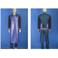China Anti - Erode Light Weight Leather Cooking Apron , Anti - Dirty Safety Leather Aprons wholesale