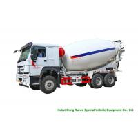China Howo Concrete Mixer Truck For Cement Transportation 10cbm Right Hand Drive wholesale