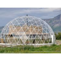 China Festival Ceremony Geo Dome Tent ,  Fire Retardant Large Geodesic Tent 30m Diameter wholesale