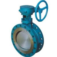 China CS SS Dual Eccentric Butterfly Valve / Double Offset Butterfly Valve wholesale