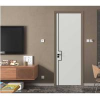 China 1200mm Maximum Width Interior Home Doors With Stainless Steel Slots ISO9001 wholesale