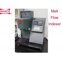 China High Precision Melt Flow Index Tester For Melt Mass Flow Rate/  Melt Volume Flow Rate wholesale