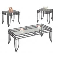 China Living Room Modern Glass Bar Table , European Style Rectangular Dining Table wholesale