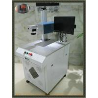 China el laser de la fibra 20w que marca el color de Machinessingle se aplica a la botella y al metal plásticos wholesale