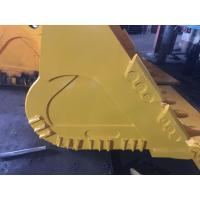 China Customizable Color Excavator Rock Bucket With Track Shoes Assembly On Bottom on sale