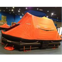 Buy cheap EC/MED standard throw-overboard inflatable life raft with container 6-35perons from wholesalers