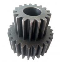 China Small Sandblasting Steel Casting Components Helical Gear For Paper Shredder wholesale