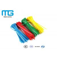 China Self Locking Nylon Cable Ties Fire Resistance With CE , UL Certification wholesale