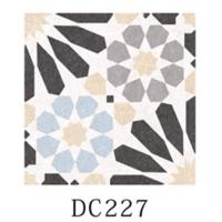 China Multicolor Decorative Ceramic Floor Tile 8.5mm Thinckness With Difference Pattern wholesale
