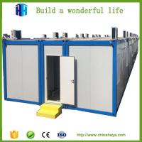 China self contained modular steel framed container house furnished price in india wholesale