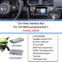 Buy cheap Navegación GPS video auto de Android del interfaz para VW Lamando, Wifi/DVD de BT/de la TV from wholesalers