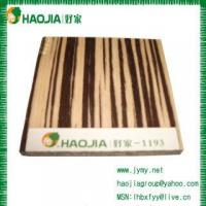 China Selling Titanium and Wood Veneer Faced Panel wholesale
