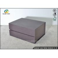 China Matt Handmade Cardboard Packing Boxes , Decorative Paper Boxes Book Shaped wholesale