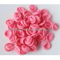 China Pink color Latex anti static finger cots / ESD Pink Finger Stall for industry electronics parts wholesale