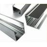 China Length Customized Polished Aluminium Profile Extrusion For Doors / Windows wholesale
