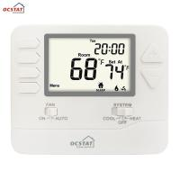 Buy cheap White Backlight Multi Stage HVAC FCU Programmable Gas and Electric Digital from wholesalers