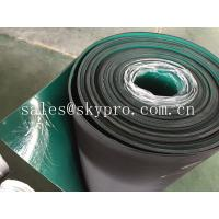China Double layer anti-static rubber matting rolls / ESD rubber flooring sheet roll wholesale