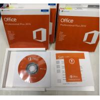 China Genuine Microsoft Office Activation Key 2016 Professional Plus DVD Pack Box on sale