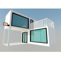 China Prefabricated Movable Modified Steel Shipping Container Homes For Living Room on sale