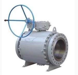 API 6D forging trunnion ball valve of 2-56 CL150-2500 OEM Service