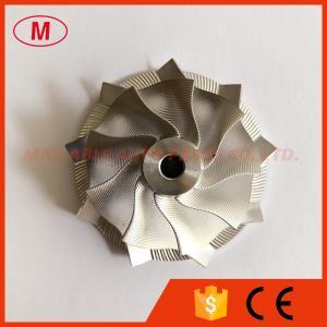 China TD04HL 39.60/51.00mm 9+0 blades point milling snake curve turbo milling/aluminum 2618/billet compressor wheel wholesale