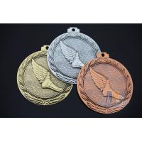 Buy cheap Volleyball And Running Sports 3D Effec Metal Custom Engraved Medals Antique gold Silver Copper Plating from wholesalers