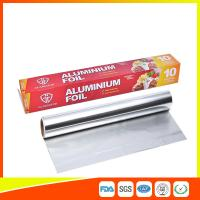 Customized Household Aluminum Foil Roll For Food Wrapping , Aluminum Foil Paper for sale