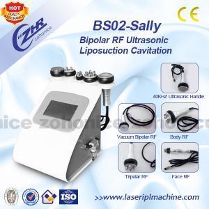 China Bipolar RF Vacuum Cavitation Body Slimming Machine Liposuction For Body Slimming on sale
