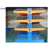 China Assembly structural cantilever rack lumber long pipes storage racking system on sale