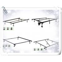 China Heavy Duty 7-Leg Adjustable Metal Bed Frame with Center Support and Rug Rollers - (Queen, Full XL, Full, Twin XL, Twin) wholesale