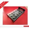 China Eco - friendly Acrylic Holder Stand / Wine Bar Glass Display Rectangle Shape wholesale