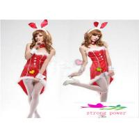 Buy cheap Christmas Women Lady Dress Bunny Rabbit Dress Cosplay Sexy Cosplay Bunny Girl Outfits Costumes Xmas Gifts from wholesalers