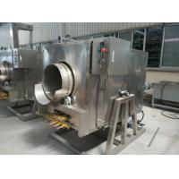 China Sesame / Groundnut Roaster Machine 304 Stainless Steel Gas Or Electric Heating wholesale
