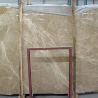 China Professional Spain Light Emperador Marble Slab , Large Marble Wall Tiles on sale