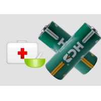 Buy cheap 3.0V 4/5A CR17450 Non-Rechargeable Li-MnO2 Cylindrical Batteries 2200mAh for security alarms from wholesalers