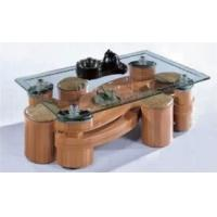 Buy cheap Wooden coffee table with stool from wholesalers