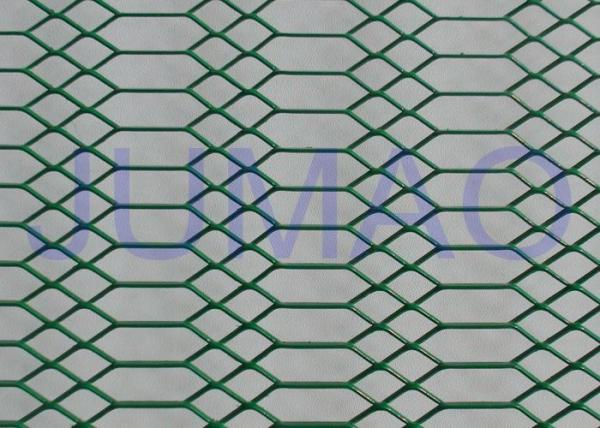 Quality Decorative Architectural Expanded Metal Ceiling Mesh With Two Style Holes for sale