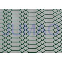 China Decorative Architectural Expanded Metal Ceiling Mesh With Two Style Holes wholesale