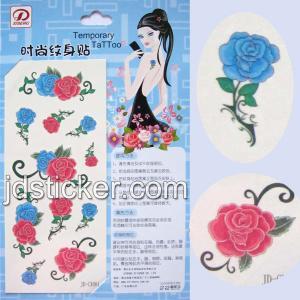 China promotion tattoo stickers wholesale